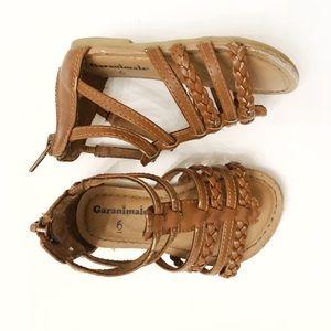 Garanimals brown sandals size 6